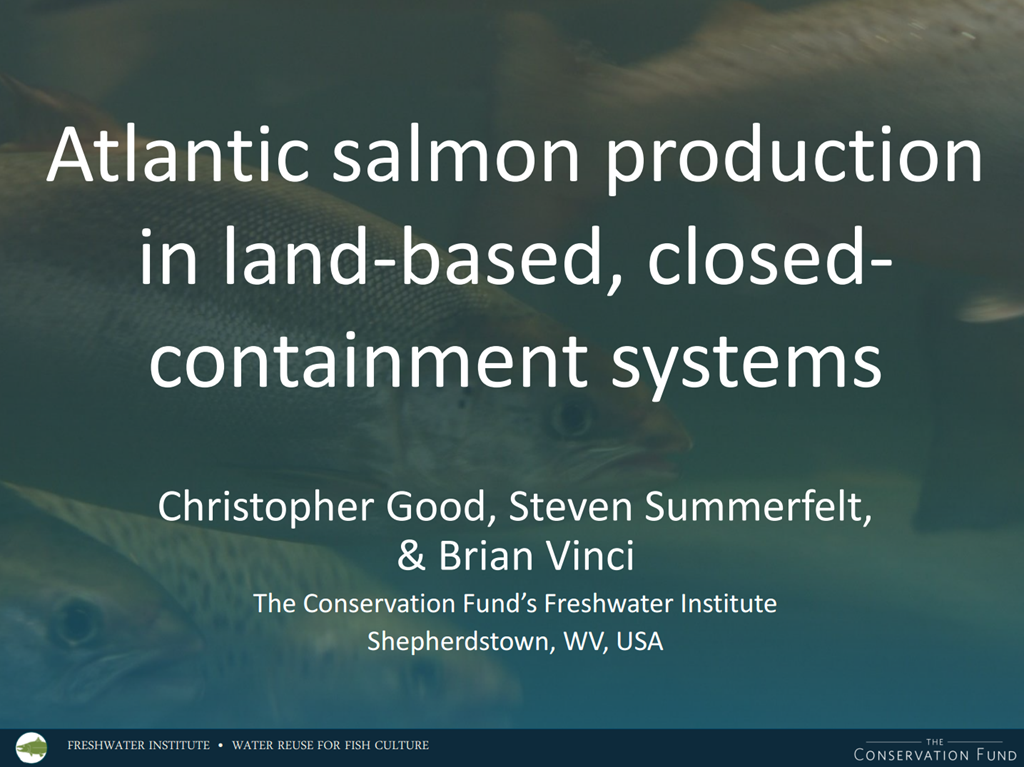 Atlantic Salmon Production